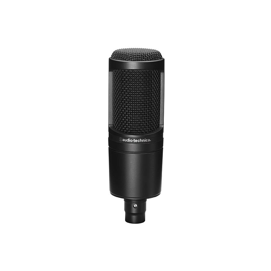 ไมโครโฟนอัดเสียง Audio Technica AT2020 Condenser Microphone