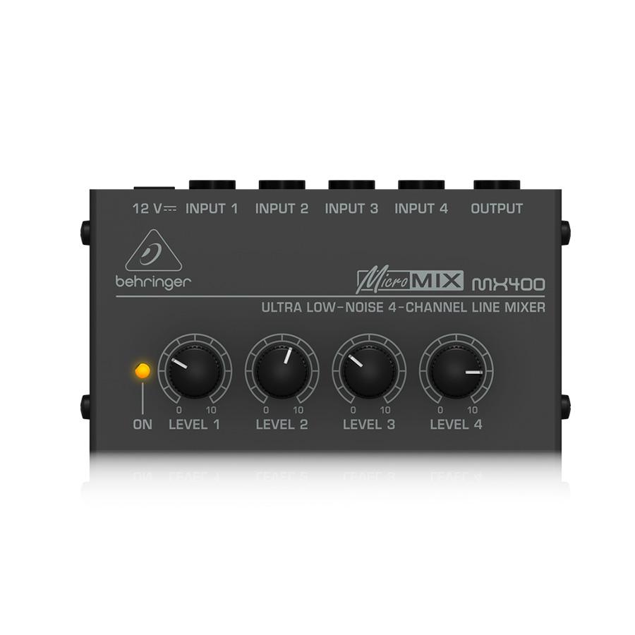 อนาล็อกมิกเซอร์ BEHRINGER MX400 Micro Mixer
