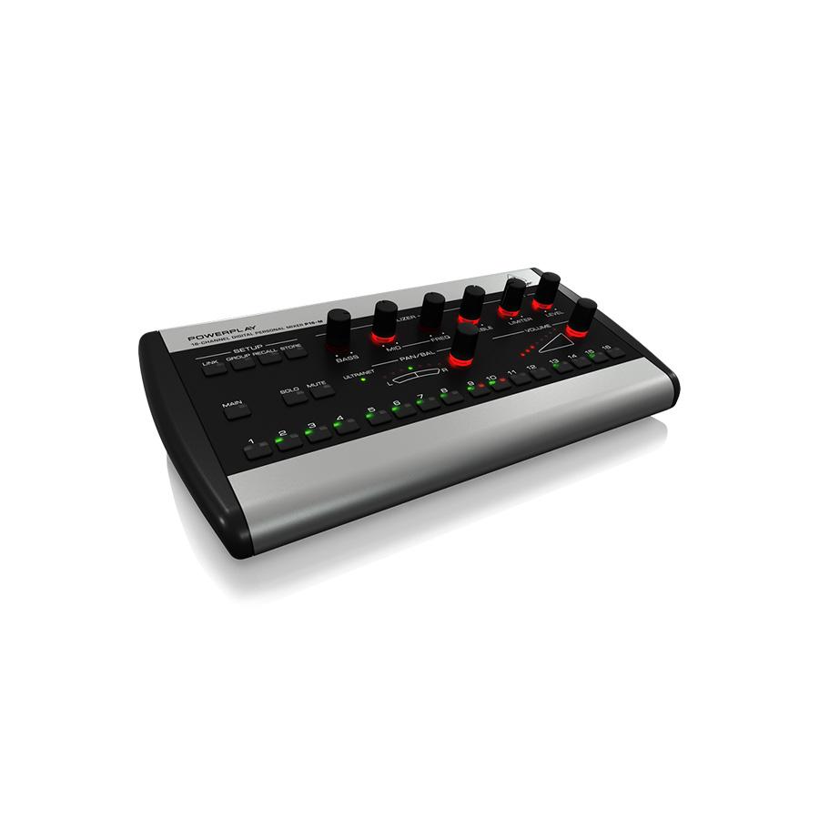 ดิจิตอลมิกเซอร์ BEHRINGER Powerplay P16M 16-Ch Digital Personal Mixer