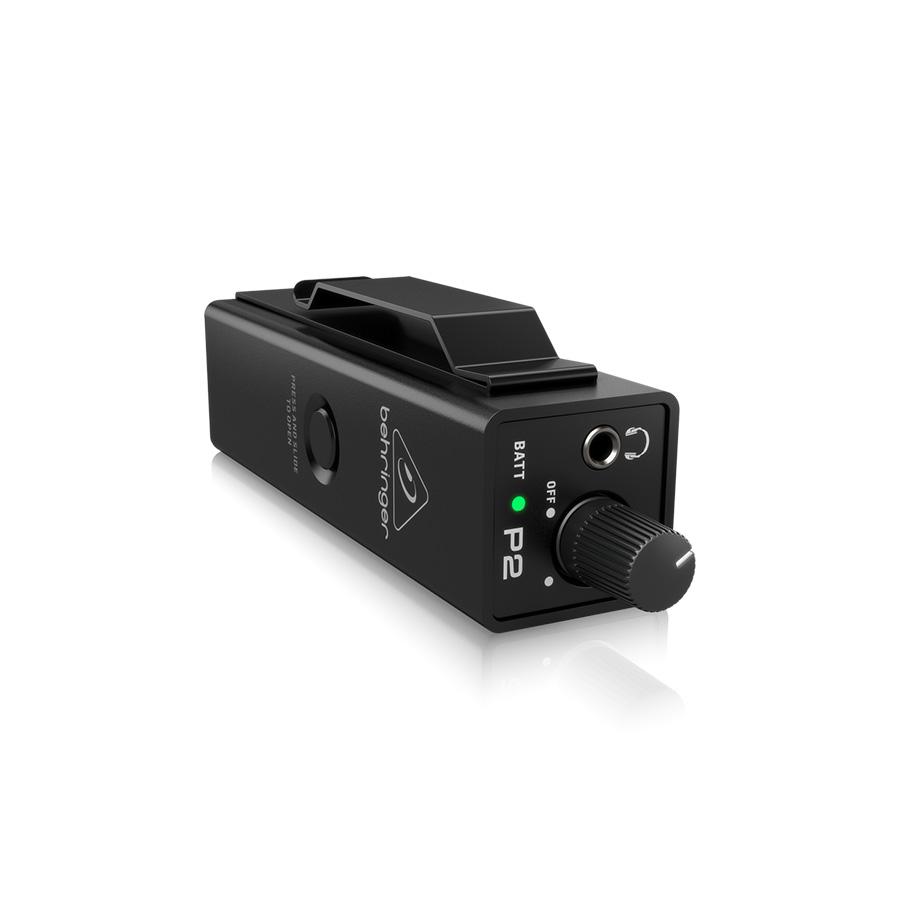 อินเอียร์มอนิเตอร์ BEHRINGER P2 Ultra-Compact In-Ear Monitor Amplifier