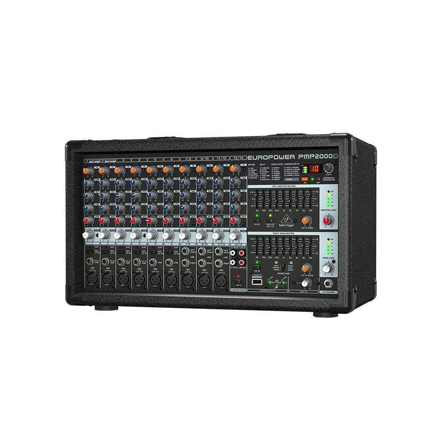 มิกเซอร์ BEHRINGER Europower PMP2000D Powered Mixer