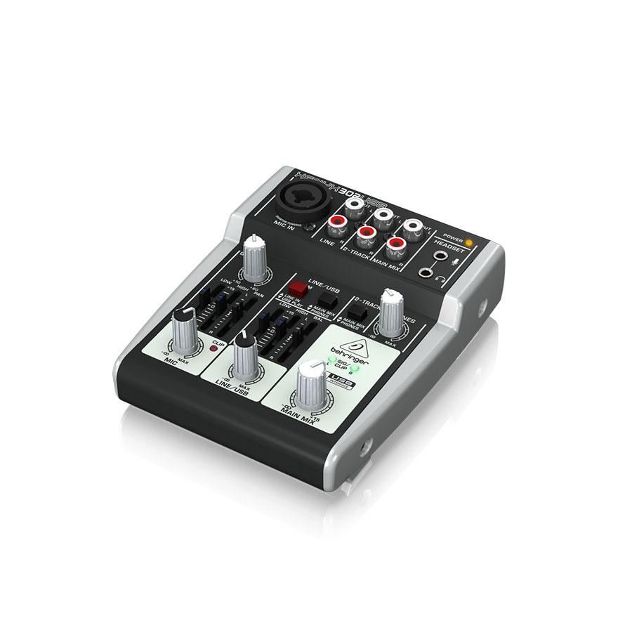 อนาล็อกมิกเซอร์ BEHRINGER XENYX 302 USB Mixer