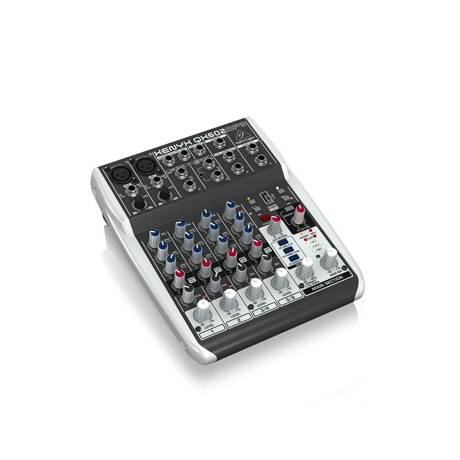 อนาล็อกมิกเซอร์ BEHRINGER XENYX QX602MP3 Mixer