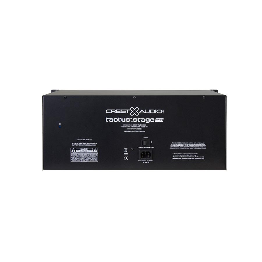 สเตจบ๊อก Crest Audio Tactus STAGE 32/16 SoundGrid Stage Box