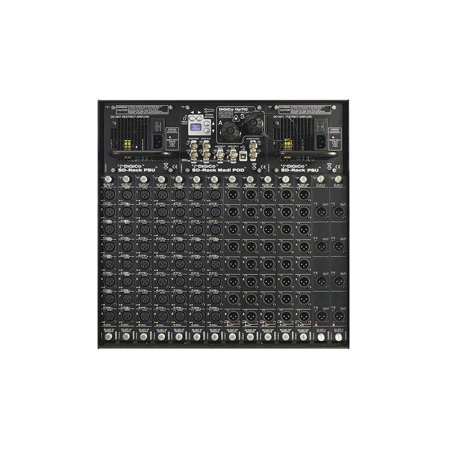สเตจบ๊อก DIGICO SD-RACK Audio I/O Interface Stage Box