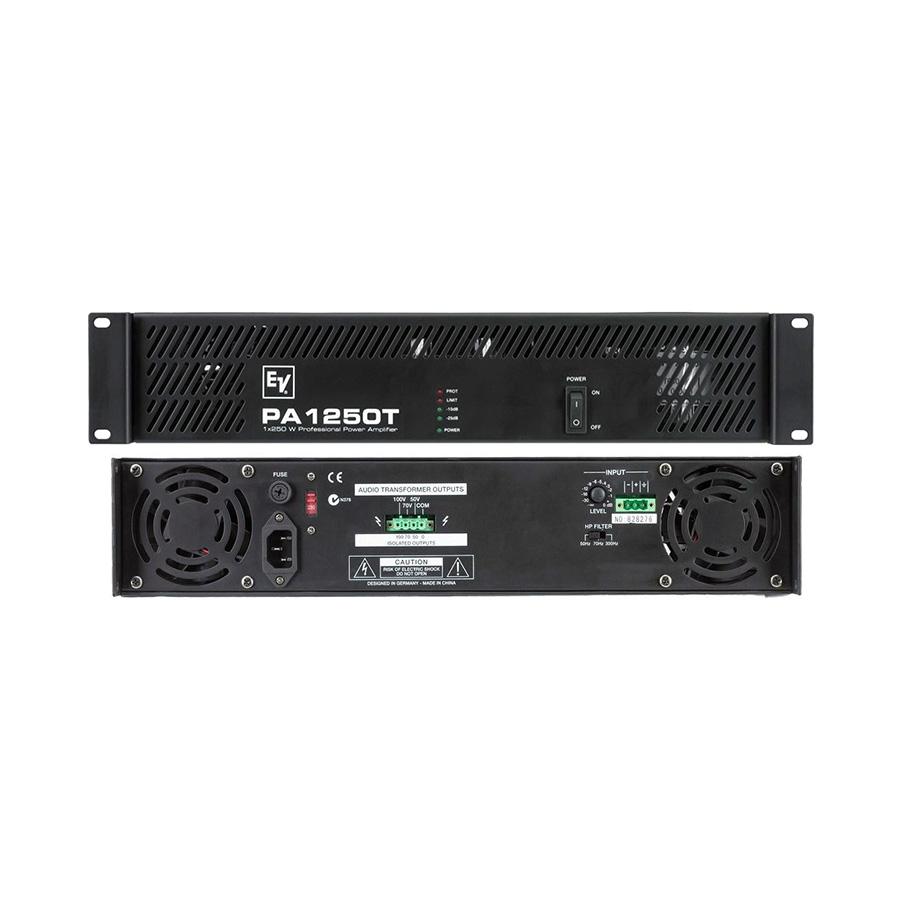 เพาเวอร์แอมป์ ยี่ห้อ EV Electro-Voice รุ่น PA1250T Amplifier