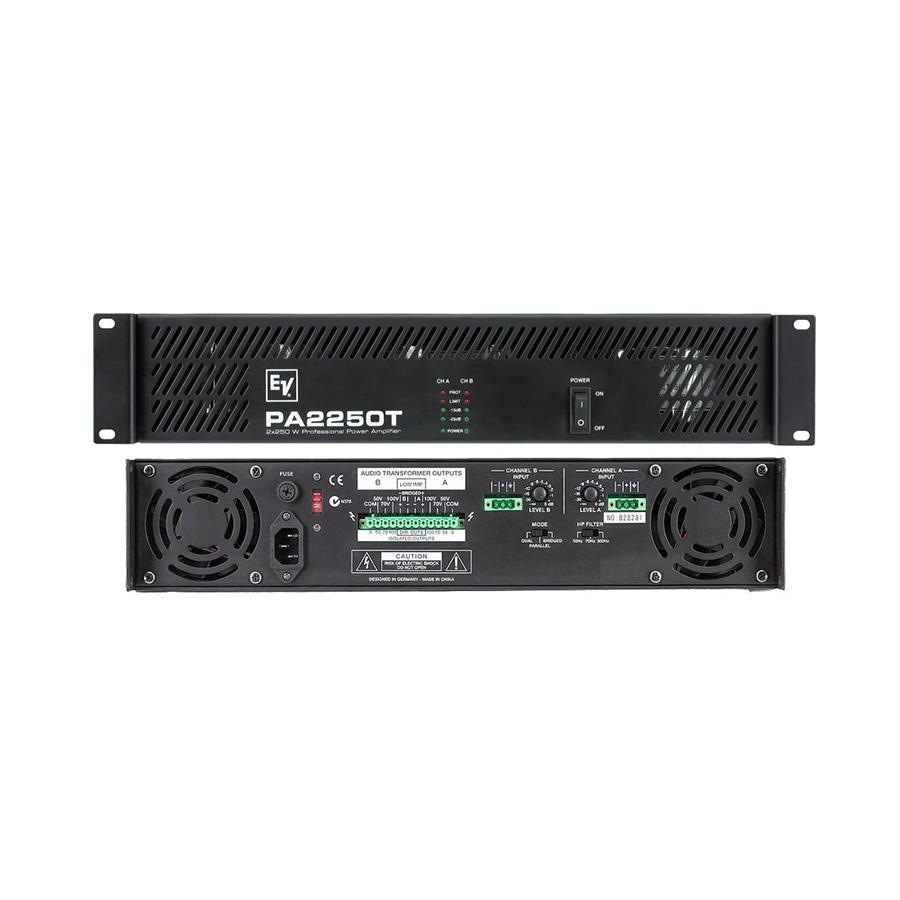 เพาเวอร์แอมป์ ยี่ห้อ EV Electro-Voice รุ่น PA2250T Amplifier