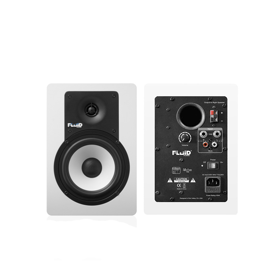 ลำโพงสตูดิโอ ยี่ห้อ Fluid Audio รุ่น C5W Studio Monitor 5″
