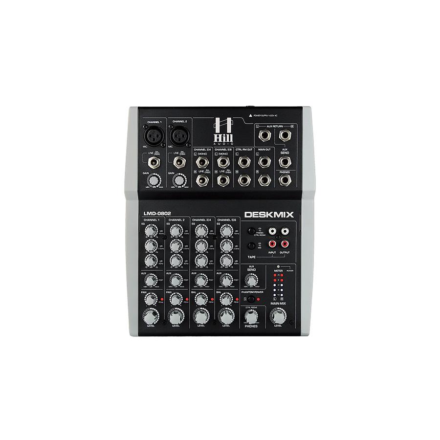 อนาล็อกมิกเซอร์ Hill Audio LMD802 Compact Mixer