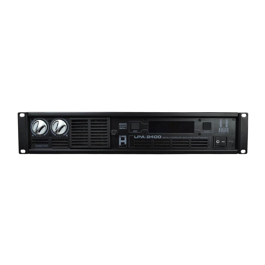 Hill Audio LPA2400 เพาเวอร์แอมป์ 2 แชนแนล 500 วัตต์