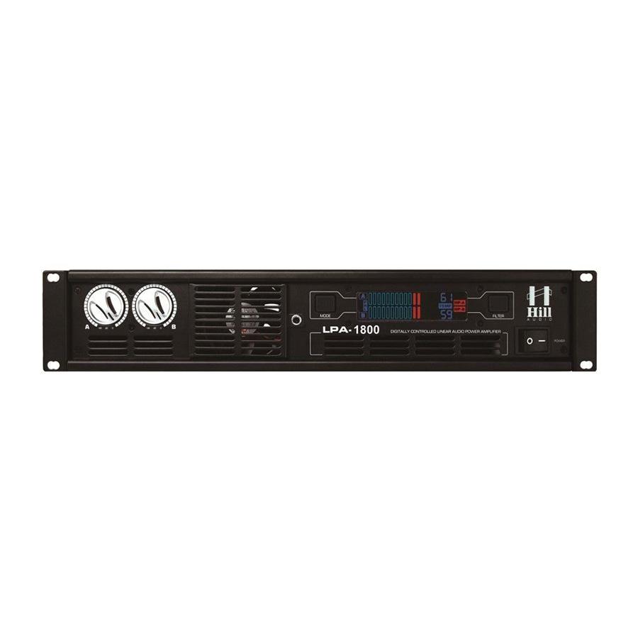 Hill Audio LPA1800 เพาเวอร์แอมป์ 2 แชนแนล 360 วัตต์