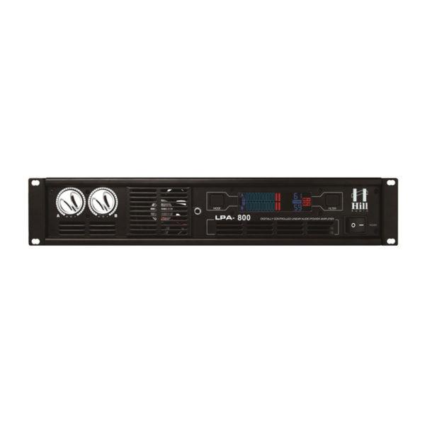 Hill Audio LPA800 เพาเวอร์แอมป์ 2 แชนแนล 200 วัตต์