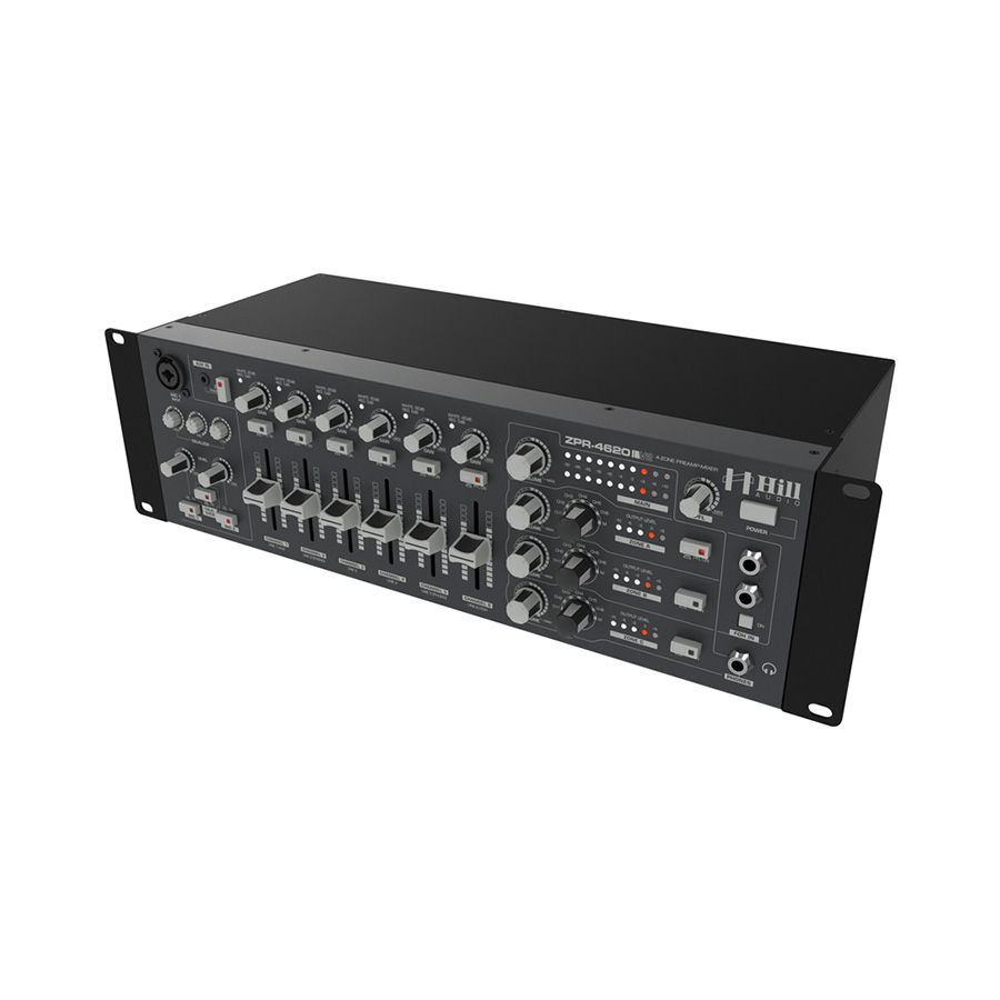 มิกเซอร์ Hill Audio ZPR4620V2 Zoning Mixer