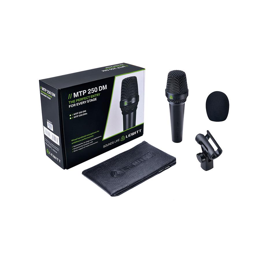 ไมโครโฟนร้อง Lewitt MTP250 DM Handheld Vocal Microphone