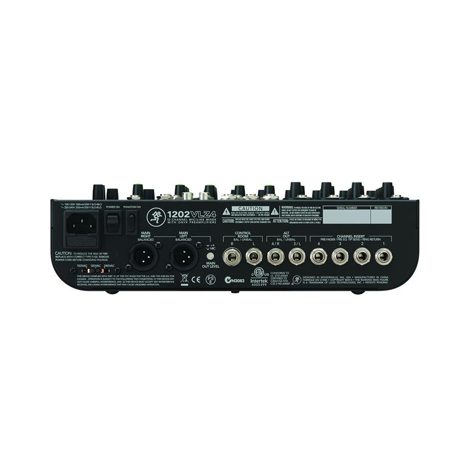 อนาล็อกมิกเซอร์ MACKIE 1202VLZ4 Compact Mixer