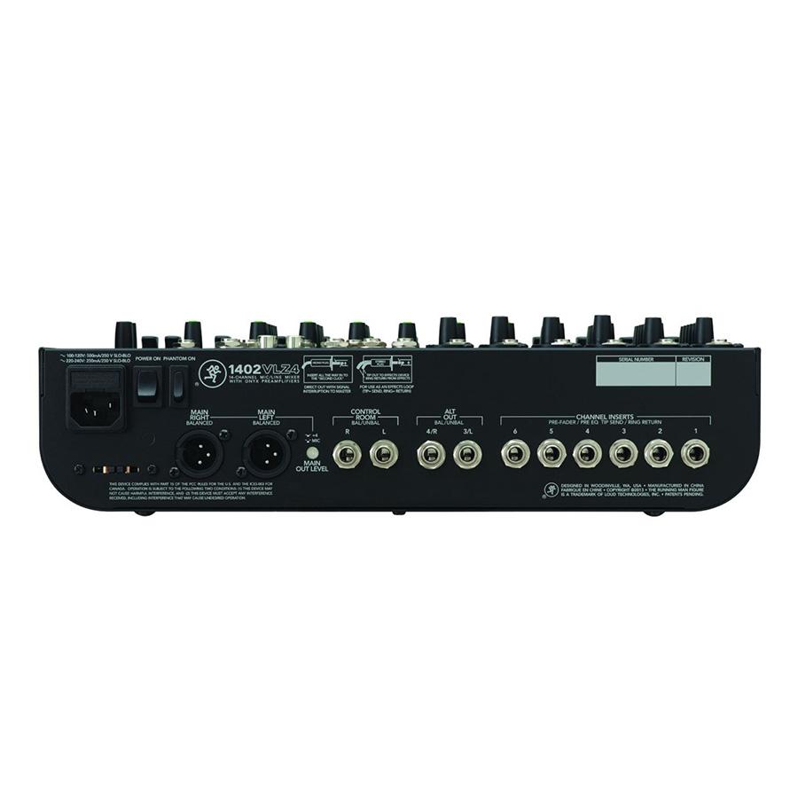 อนาล็อกมิกเซอร์ MACKIE 1402VLZ4 Compact Mixer