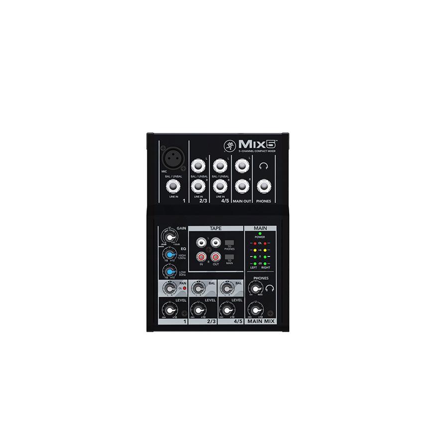 อนาล็อกมิกเซอร์ MACKIE Mix5 Compact Mixer