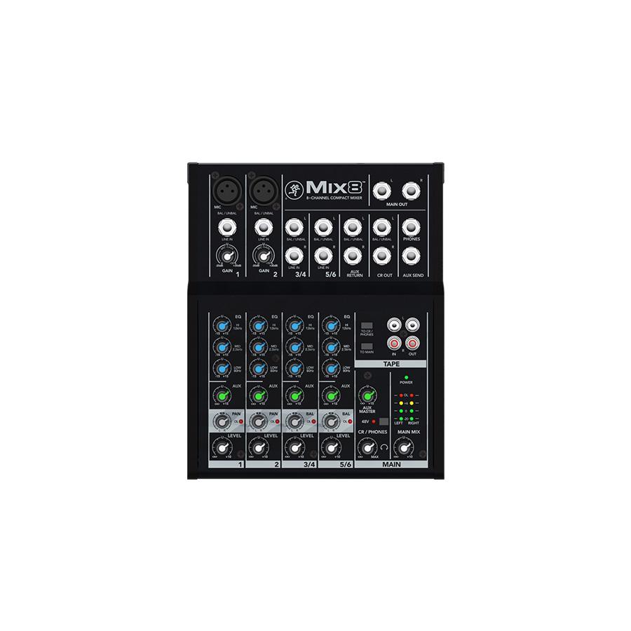 อนาล็อกมิกเซอร์ MACKIE Mix8 Compact Mixer