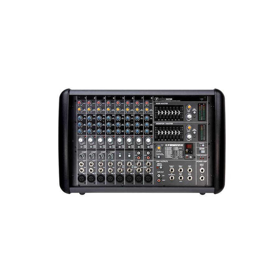 เพาเวอร์มิกเซอร์ MACKIE PPM608 Powered Mixer