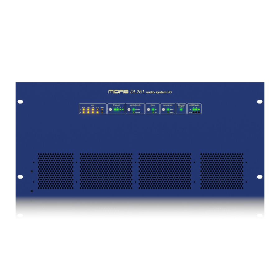 สเตจบ๊อก MIDAS DL251 I/O INTERFACES STAGE BOX