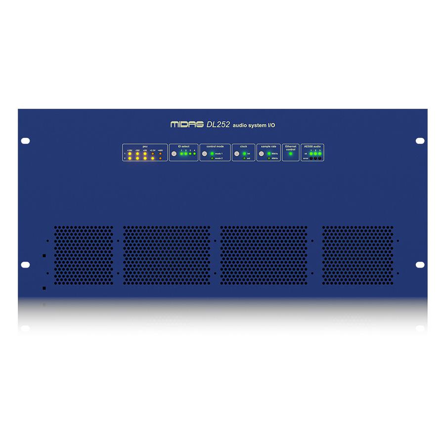 สเตจบ๊อก MIDAS DL252 I/O INTERFACES STAGE BOX