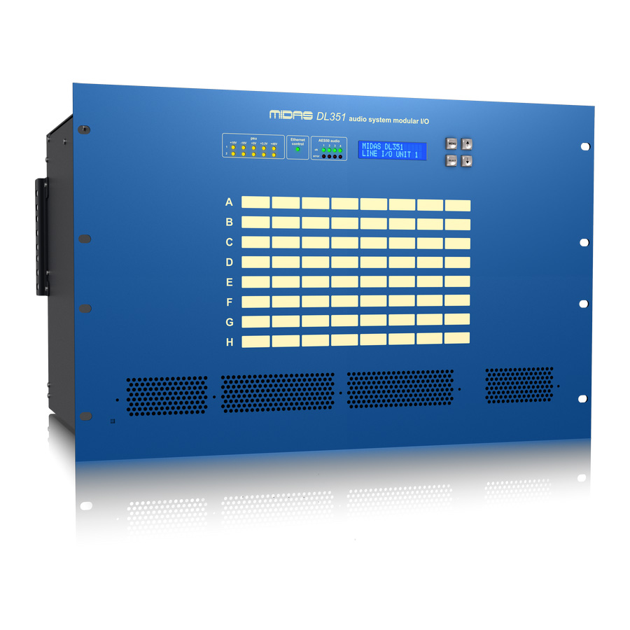 สเตจบ๊อก MIDAS DL351 I/O INTERFACES STAGE BOX