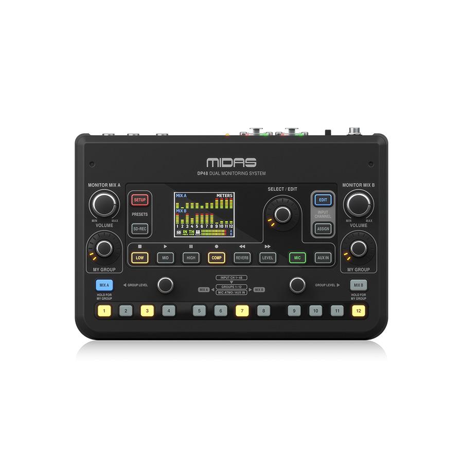 มอนิเตอร์มิกเซอร์ MIDAS DP48 Personal Monitor Mixer