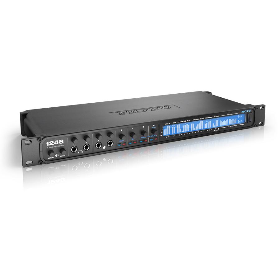 ออดิโออินเตอร์เฟส ยี่ห้อ Motu รุ่น 1248 Audio Interface