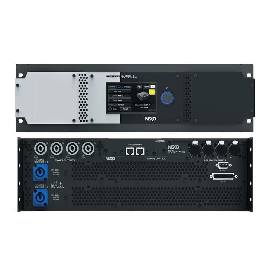 เพาเวอร์แอมป์ NEXO NXAMP 4×4MK2 Power Amp