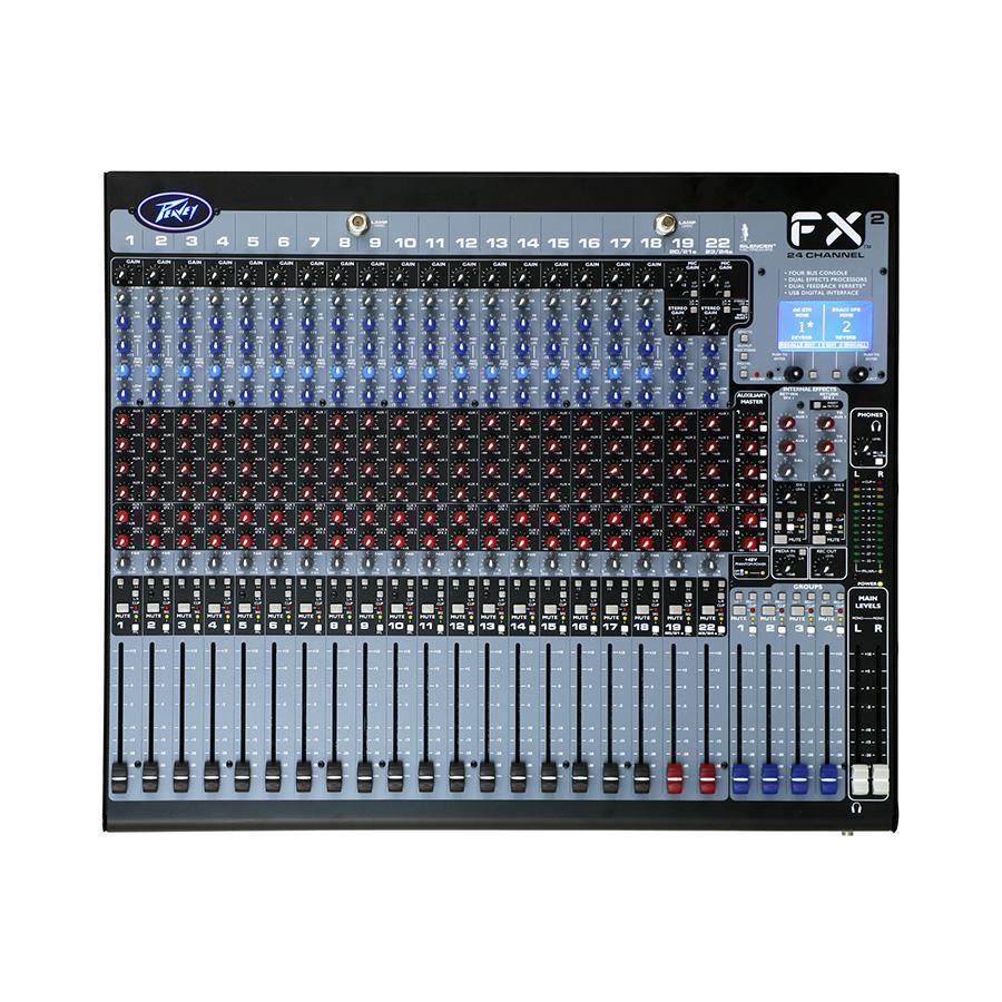 อนาล็อกมิกเซอร์ PEAVEY FX24 COMPACT MIXER