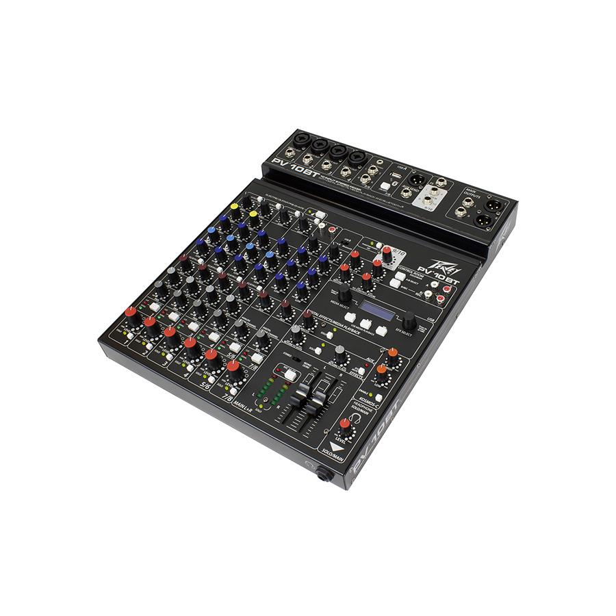 อนาล็อกมิกเซอร์ PEAVEY PV10BT with Bluetooth