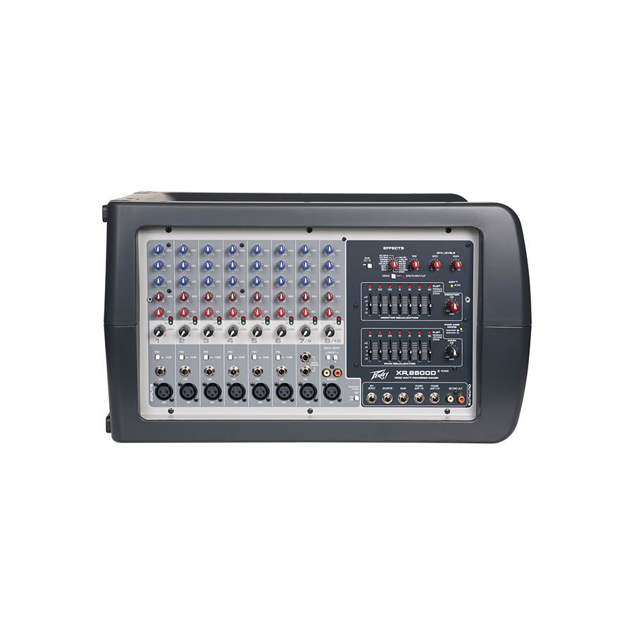 เพาเวอร์มิกเซอร์ PEAVEY XR8600D Powered Mixer