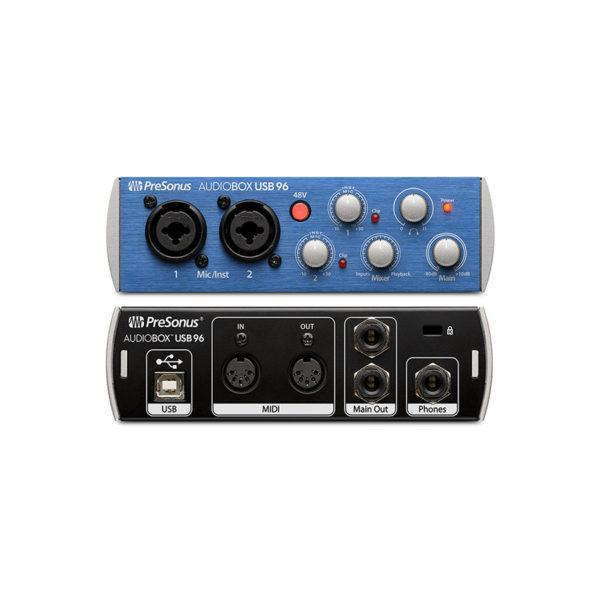 ออดิโออินเตอร์เฟส PreSonus AudioBox USB96