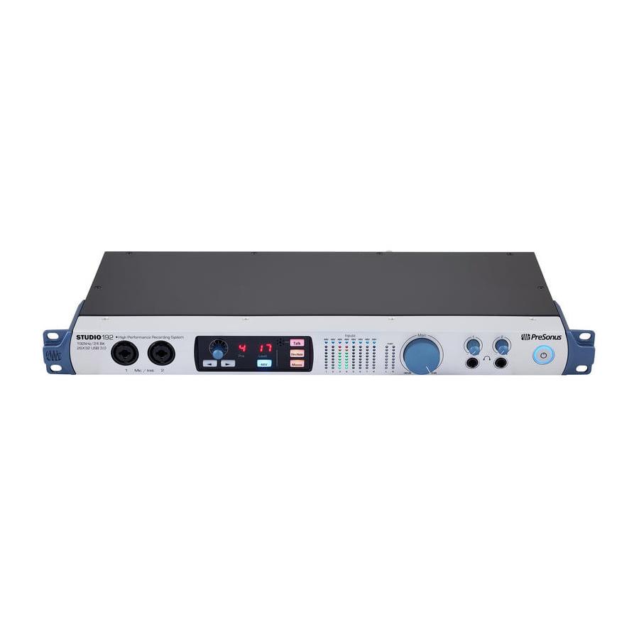 ออดิโออินเตอร์เฟส PreSonus Studio192 USB 3.0 Audio Interface