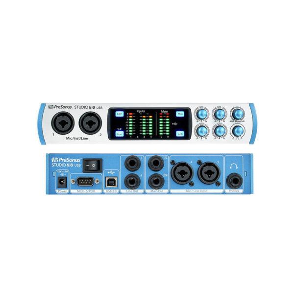 PreSonus Studio68 USB 2.0 ออดิโออินเตอร์เฟส