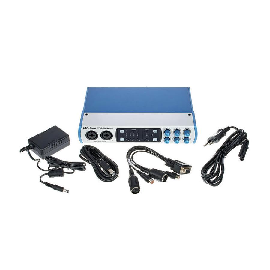 ออดิโออินเตอร์เฟส PreSonus Studio68 USB 2.0