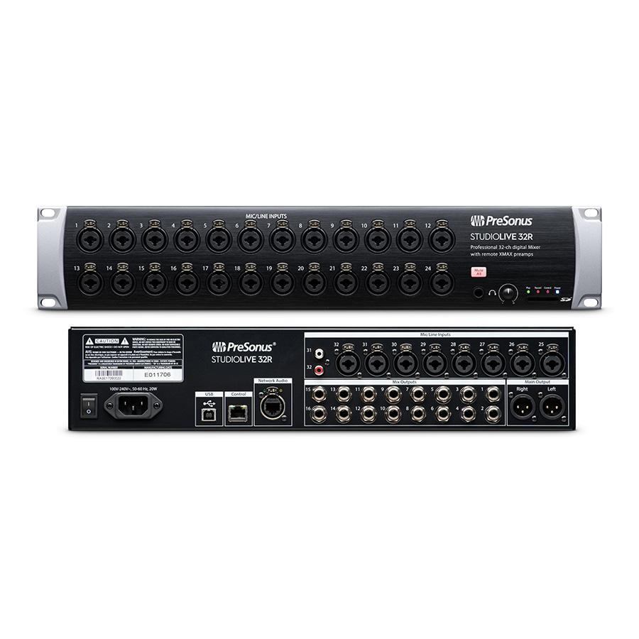 ดิจิตอล PreSonus StudioLive 32R Rackmount Digital Mixer