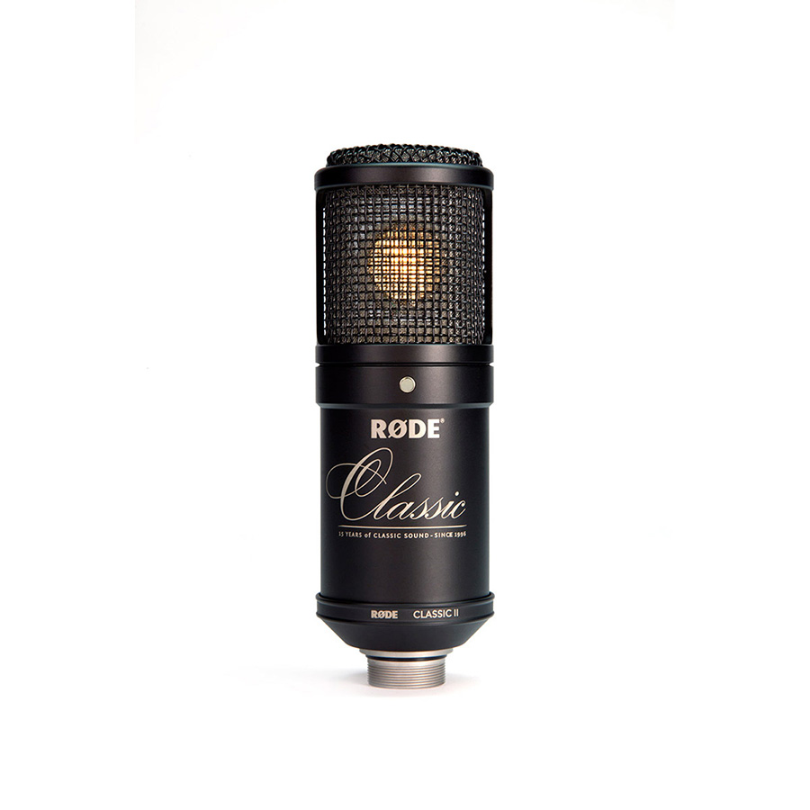 ไมโครโฟนสำหรับบันทึกเสียง ยี่ห้อ Rode รุ่น CLASSIC II LIMITED