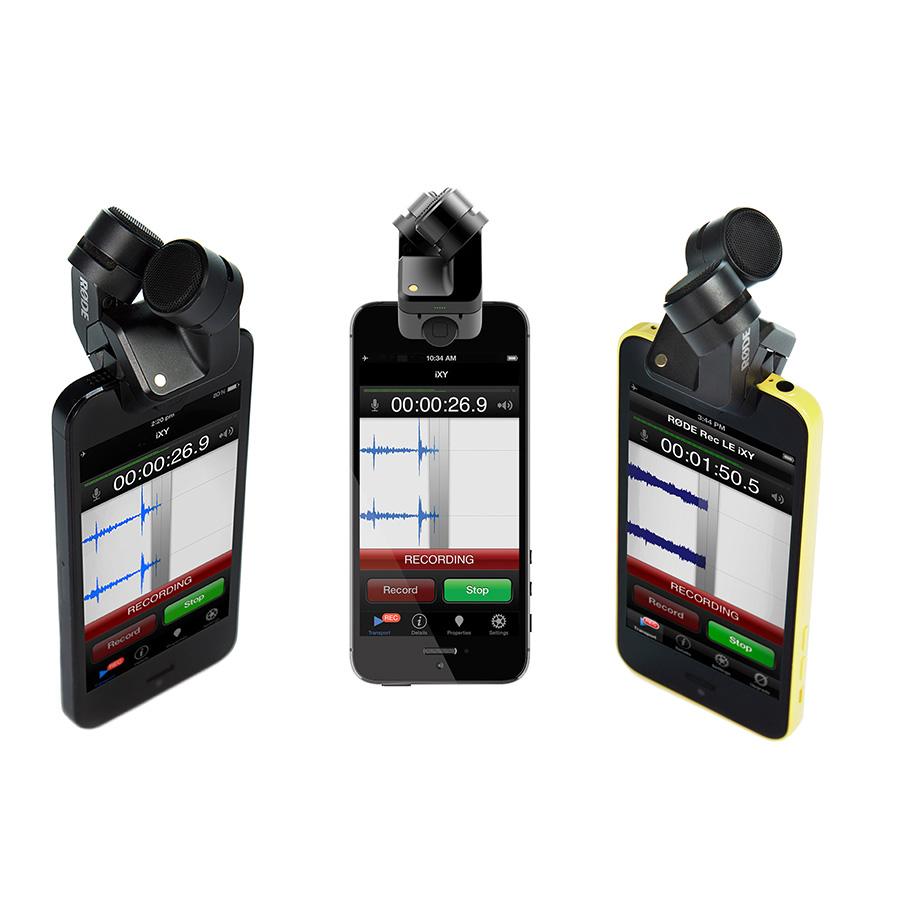 ไมโครโฟนสำหรับติดโทรศัพท์ ยี่ห้อ Rode รุ่น IXY STEREO