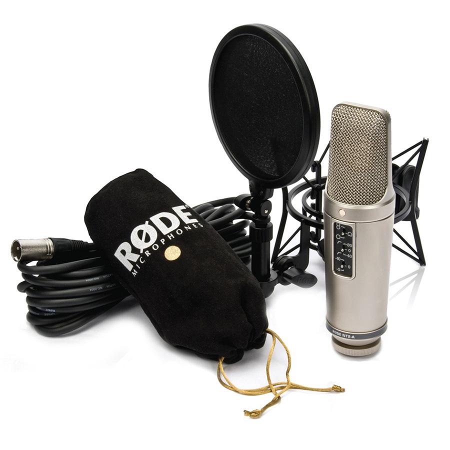 ไมโครโฟนสำหรับบันทึกเสียง ยี่ห้อ Rode รุ่น NT2-A STUDIO