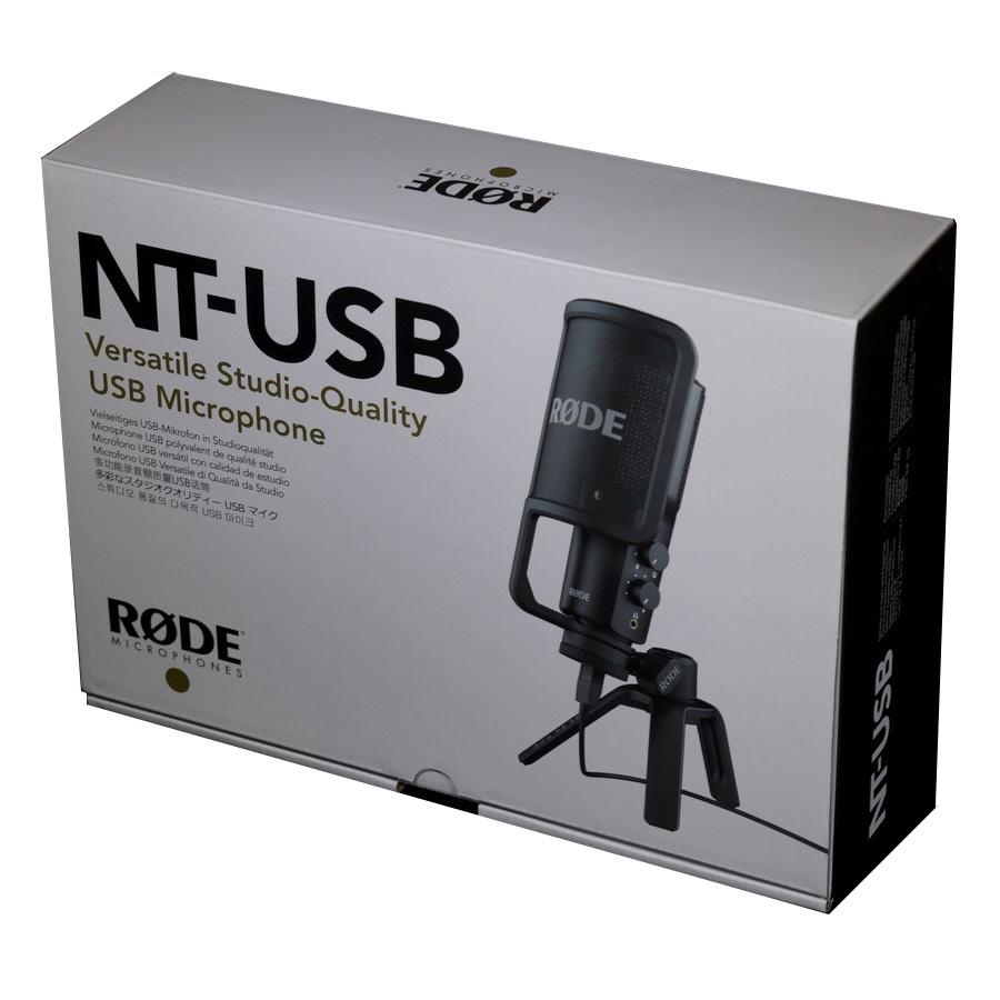 ไมโครโฟนสำหรับบันทึกเสียง ยี่ห้อ Rode รุ่น NT-USB Studio