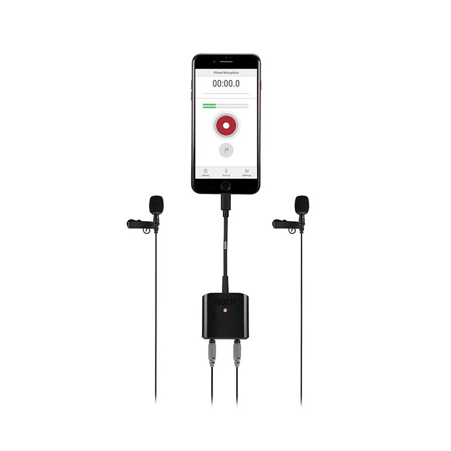 อุปกรณ์เสริม Iphone ยี่ห้อ Rode รุ่น SC6-L Mobile Interview