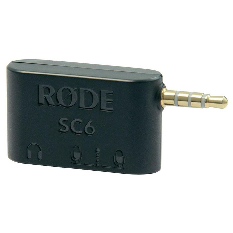 อุปกรณ์พ่วงต่อสำหรับมือถือ ยี่ห้อ Rode รุ่น SC6 Dual TRRS