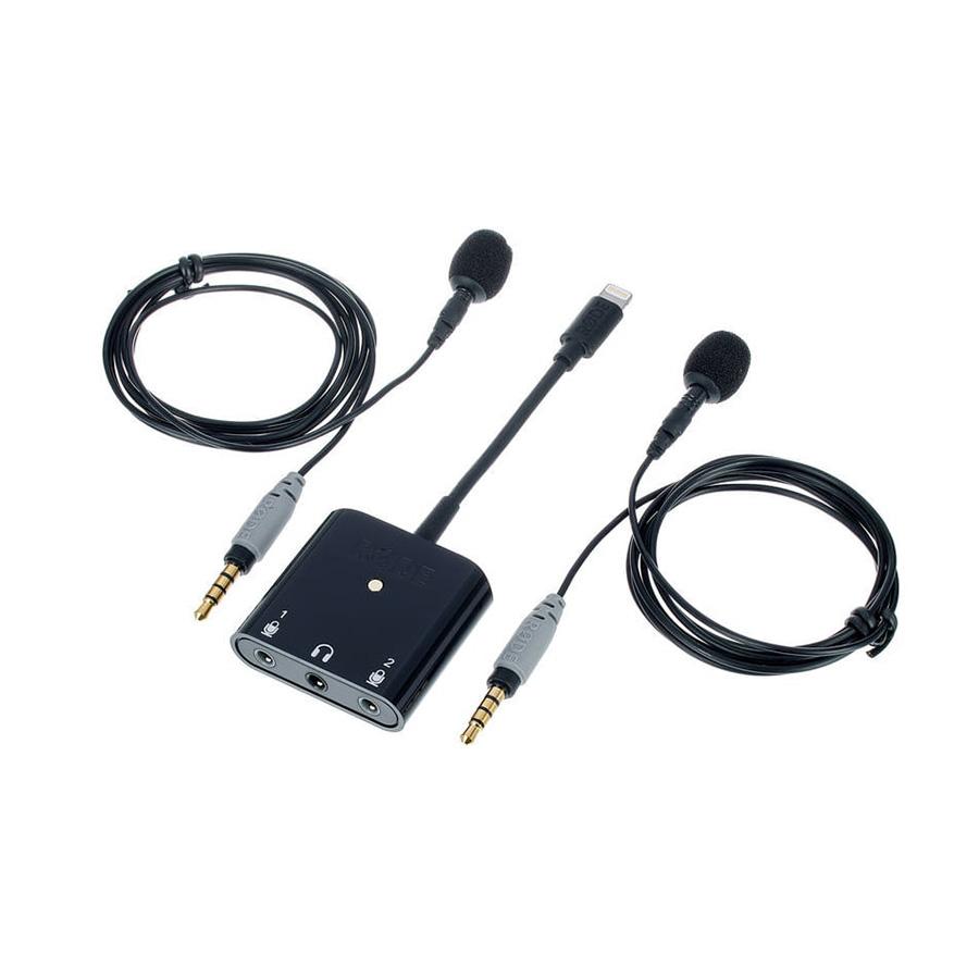 ชุดไมค์ติดโทรศัพท์ ยี่ห้อ Rode รุ่น SC6L-KIT 2x SmartLav+/SC6-L