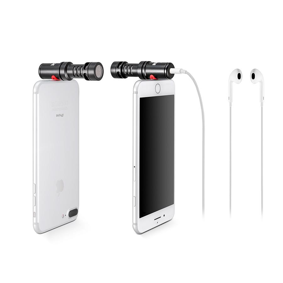 ไมโครโฟนติดโทรศัพท์สำหรับiOS ยี่ห้อ Rode รุ่น VideoMic Me-L