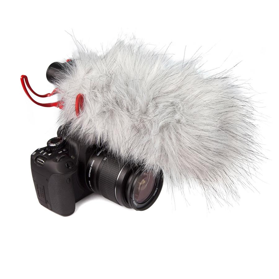 ไมโครโฟน สำหรับติดกล้อง ยี่ห้อ Rode รุ่น VIDEOMIC RYCOTE