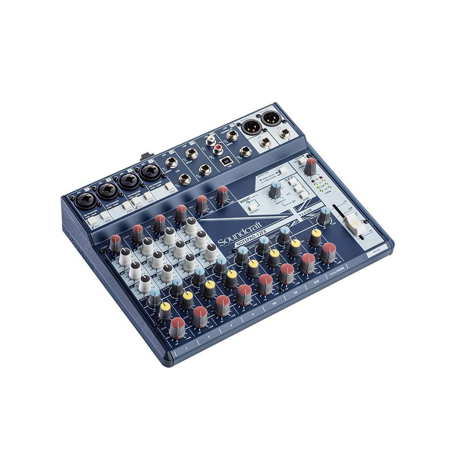 อนาล็อกมิกเซอร์ SOUNDCRAFT Notepad-12FX Small Analog Mixing