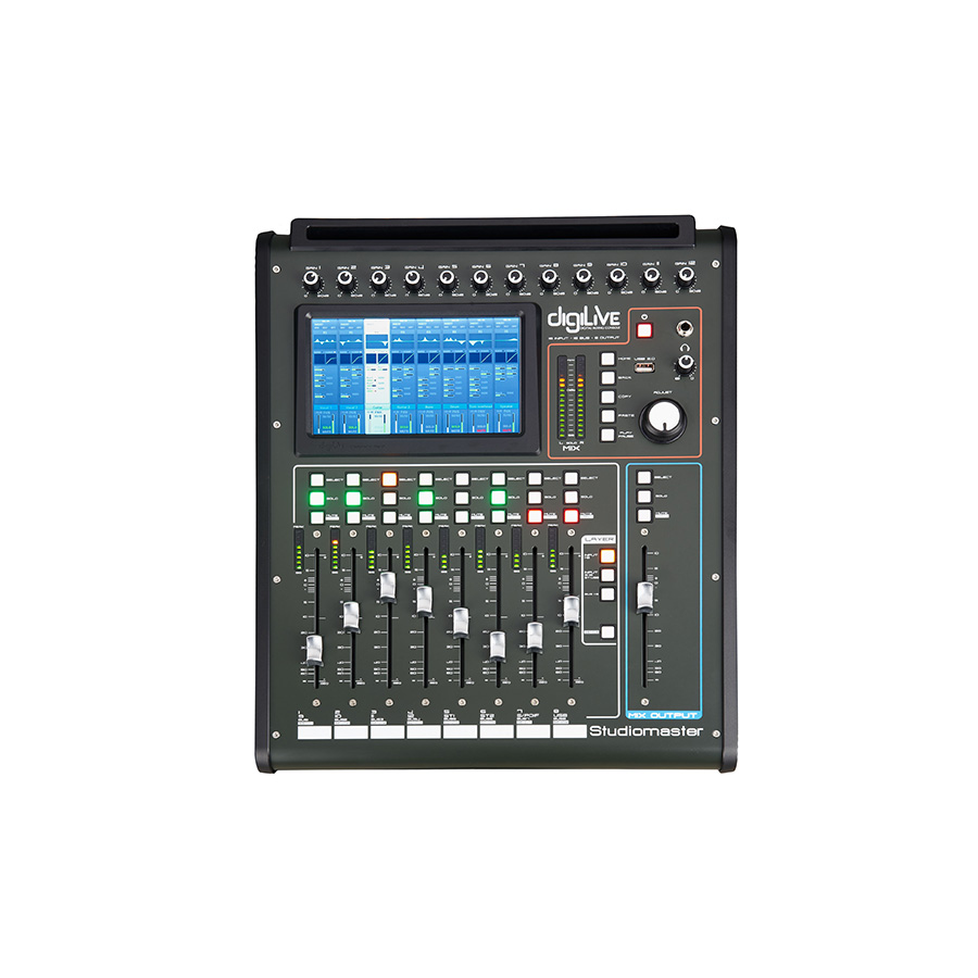 ดิจิตอลมิกเซอร์ Studiomaster DigiLive16 Digital Mixing Console