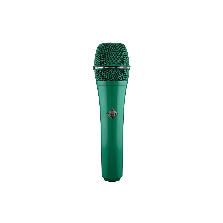 ไมโครโฟนสำหรับร้อง ยี่ห้อ Telefunken รุ่น M80 GREEN