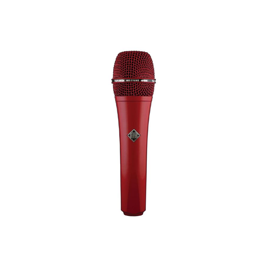 ไมโครโฟนสำหรับร้อง ยี่ห้อ Telefunken รุ่น M80 RED